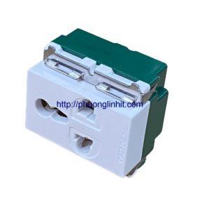 Hạt ổ cắm điện đơn 3 chấu đa năng Sinoamigo chuẩn Full